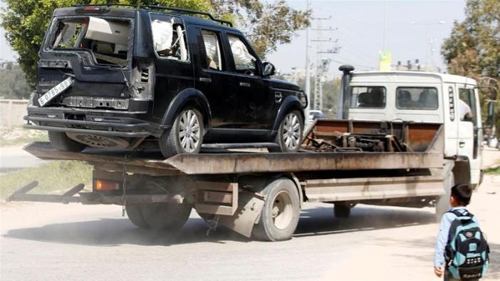 Explosion hits as Palestinian PM Rami Hamdallah enters Gaza