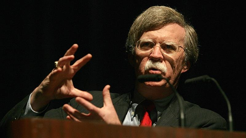 Bolton, Trump's national security adviser, has been a vocal opponent of the Iran nuclear deal [File: Scott M. Lieberman/AP]