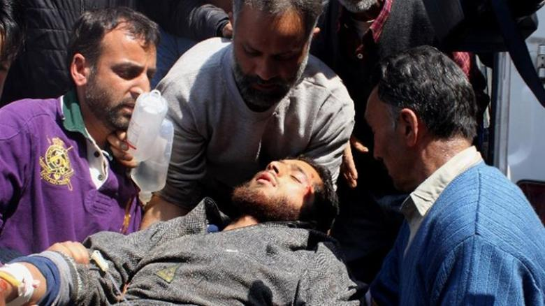 Massive anti-India protests erupt in southern Kashmir