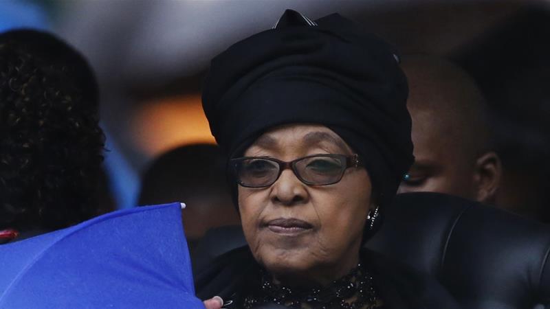 Who was South Africa's Winnie Mandela?