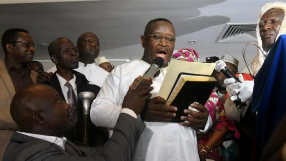 President Julius Maada Bio promised a sweeping crackdown on graft during his campaign [Reuters]