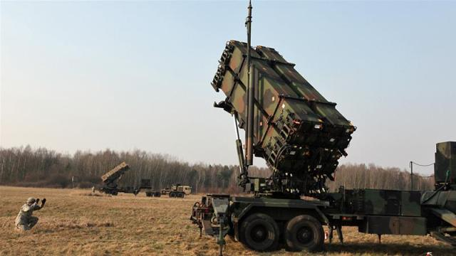 Patriot package offered to Turkey includes 80 missiles, 60 PAC-3 missile interceptors and related equipment [AP]