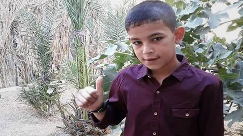 The 11-year-old was killed by Israeli forces on the 14th Friday protest in the Gaza Strip [Photo courtesy of the Abu al-Naja family/Al Jazeera]