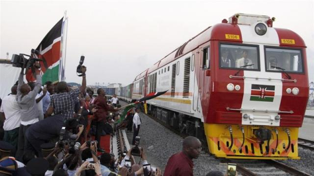 China's Export-Import Bank funded 90 percent of the railway's construction costs [File: Khalil Senosi/AP]