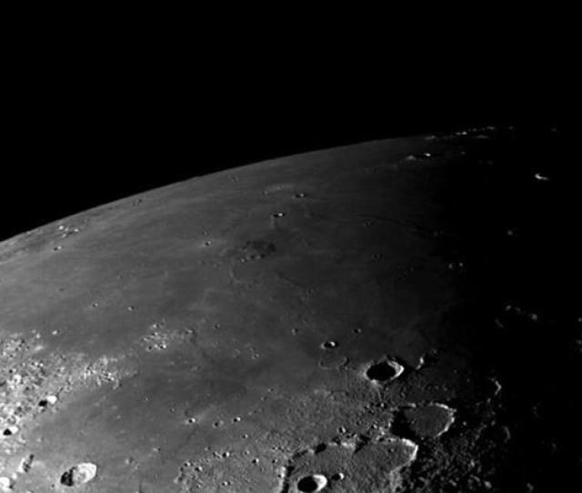 Researchers Were Able To Determine Ice Is Present In Moon Craters Devoid Of Sunlight File