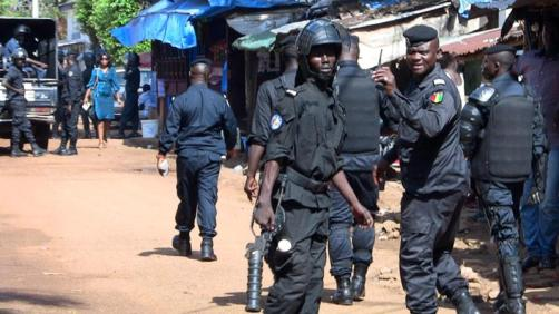 Bildergebnis für Guinea court jails opposition leaders for organising protests