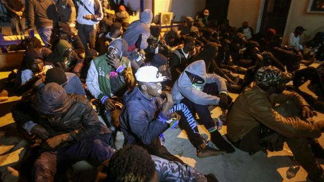 Pope compares Libya's detention centres with concentration camps