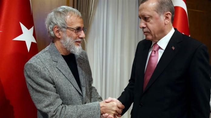Erdogan opened the mosque in Cambridge alongside British Muslim singer Yusuf Islam [File: Yasin Bulbul/Turkish Presidential Press Service/AFP]