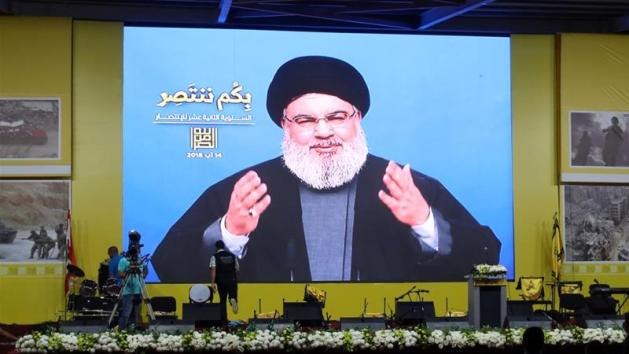 Lebanon's Hezbollah leader Sayyed Hassan Nasrallah said neither Saudi Arabia nor the United Arab Emirates had any interest in a conflict erupting in the region [File: Aziz Taher/Reuters]