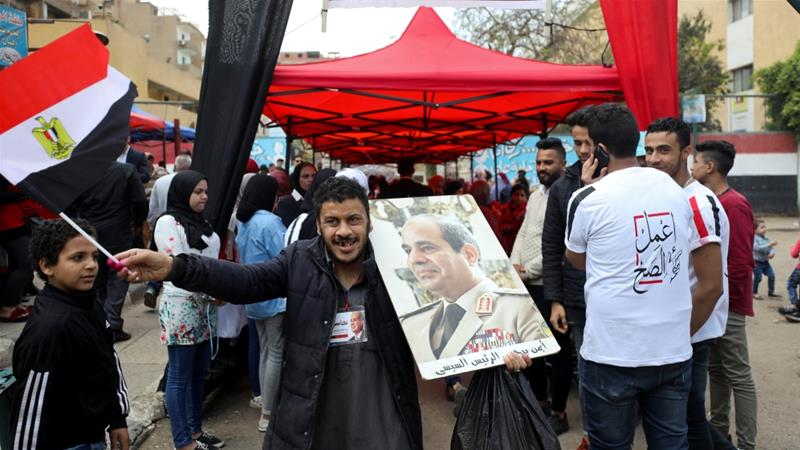 Egyptians approve extension to President el-Sisi's rule