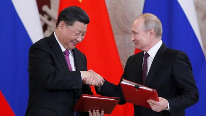 Image result for Xi & Putin