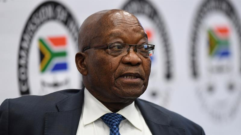 Jacob Zuma was president of South Africa from 2009 to 2018 [File: Reuters]
