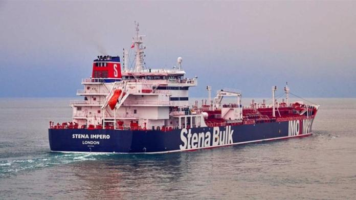 The vessel was seized by 'small crafts and a helicopter', the owner of the vessel said [Stena Bulk/Handout/via Reuters]