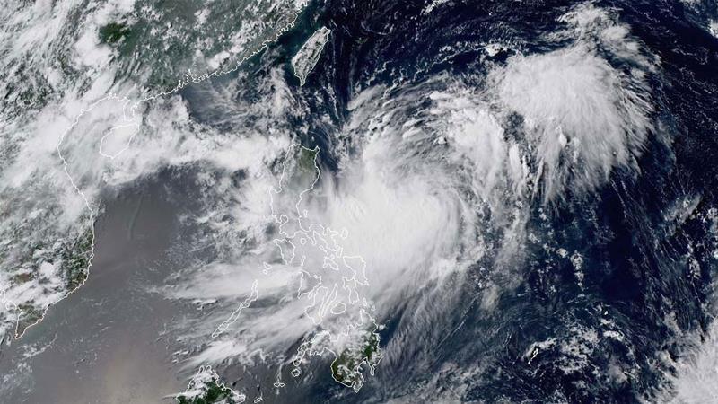 tropical storm bailu takes