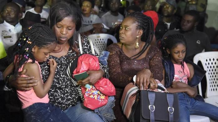 Nigerians repatriated from South Africa after attacks