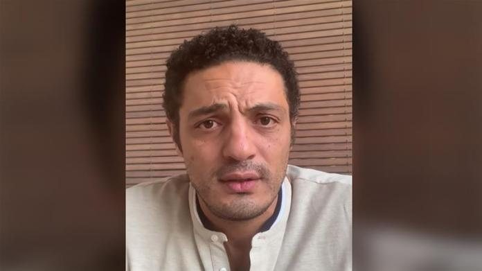 Mohamed Ali who said he worked with the army for 15 years, has accused the Egyptian president of corruption [Screengrab/Al Jazeera]