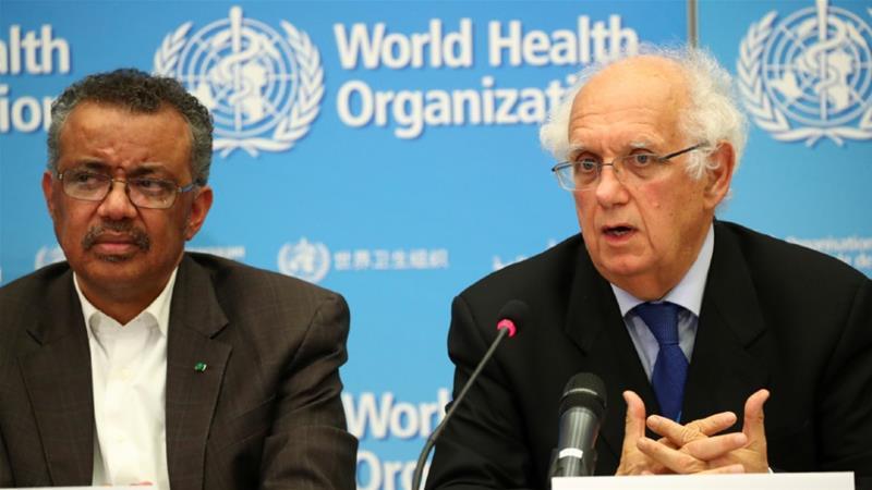 WHO calls for science and solidarity over coronavirus | China News ...