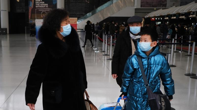 US bans travellers from China as coronavirus toll spikes | USA ...