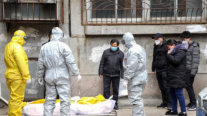 China virus funeral order fuels upset as death toll rises | China ...