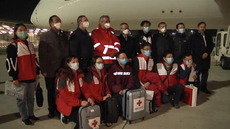 China sends essential coronavirus supplies to Italy | Italy News ...