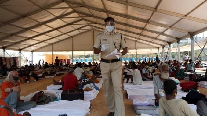 India hospital shuts after surge in coronavirus cases among staff ...