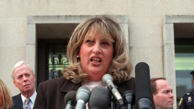 Linda Tripp's son-in-law said her death was unrelated to the coronavirus [File: Khue Bui/AP]