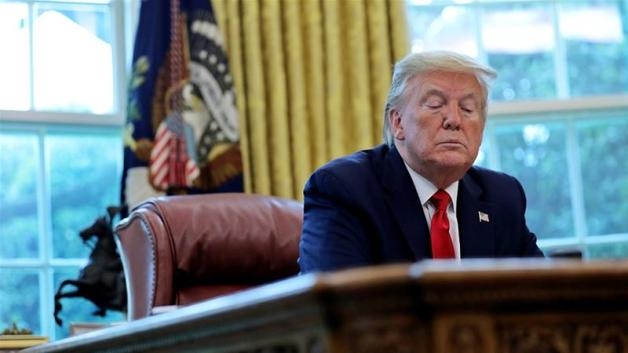 President Donald Trump, who has stepped up recent attacks on China in advance of the November 3 US presidential election, has long pledged to bring manufacturing back from overseas [File: Carlos Barria/Reuters]