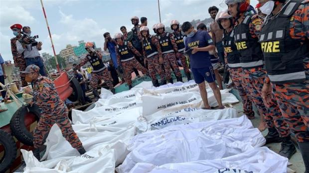 Dozens die in Bangladesh ferry accident: Officials | News | Al Jazeera