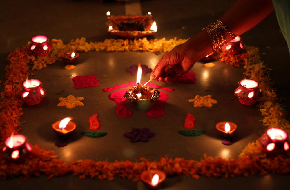 In Pictures Reinventing Diwali Traditions India Al