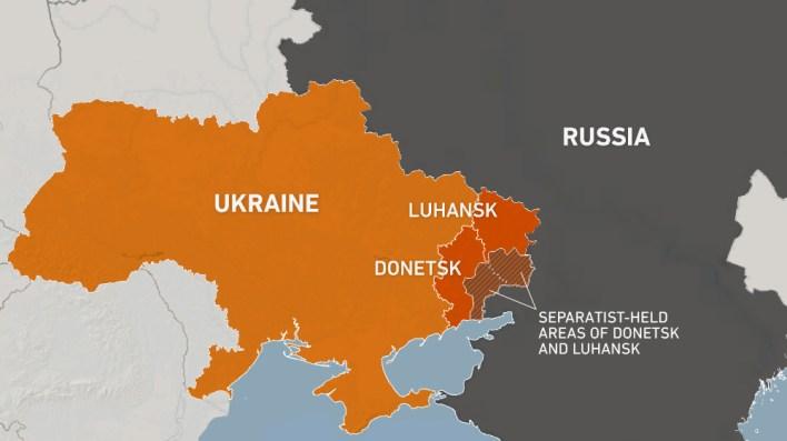 WEB MAP UKRAINE RUSSIA SEPARATIST AREAS REFRESH