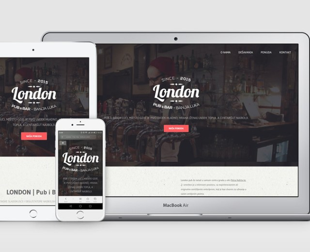 Presentation-London-Pub-Web-Site