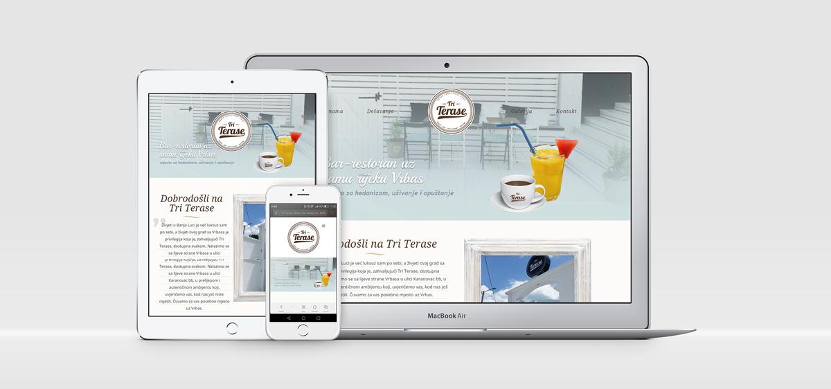 Web prezentacija Tri Terase