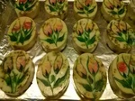 Painted Soap- rose buds