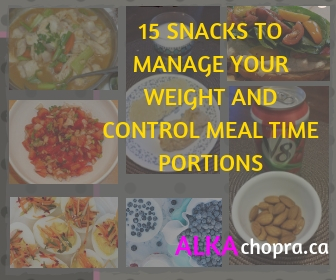 15 ways to manage your weight by choosing smart snacks that will make you feel fuller