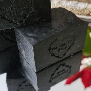 Charcoal and neem soap