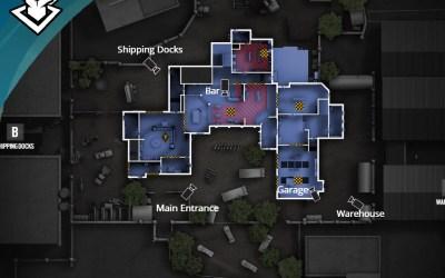 Recrean el mapa de Banco de Rainbow Six Siege con cartón y arcilla.