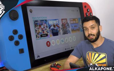 Alguien creó una Nintendo Switch gigante, y realmente funciona