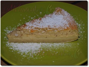 Gâteau magique à la vanille, sucre glace