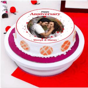Personalized Photo Cake to Saudi Arabia