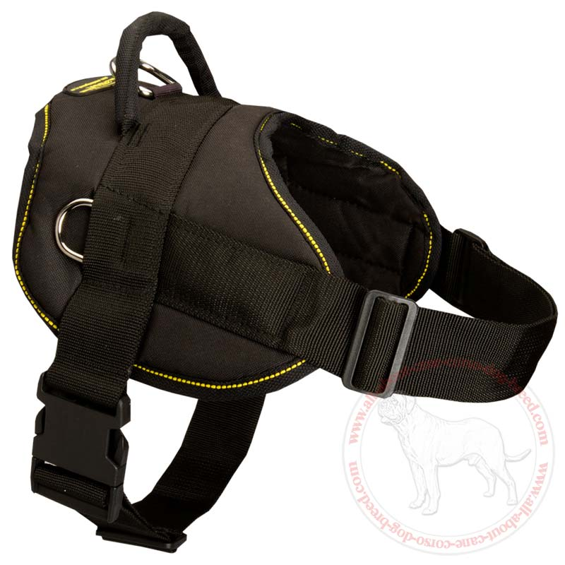 Weight Pulling Nylon Harness With Handle