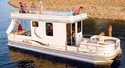 Sun Tracker Regency Party Cruiser Houseboats