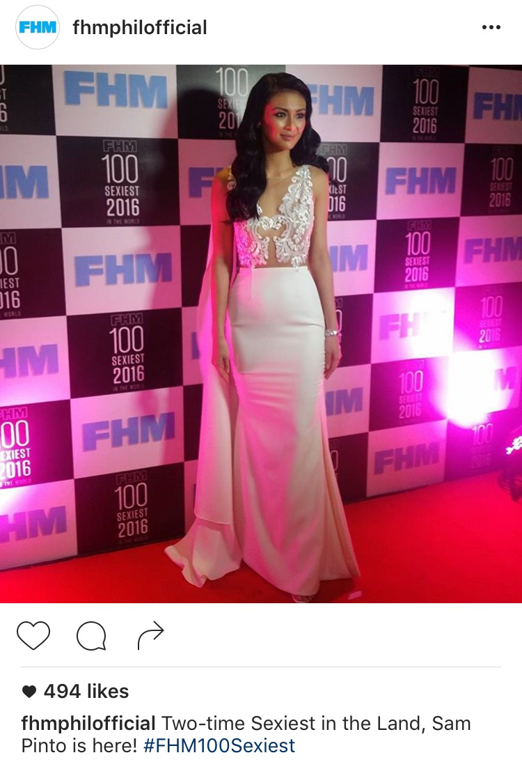 FHM 2016 Sexiest Women in the Victory Party6
