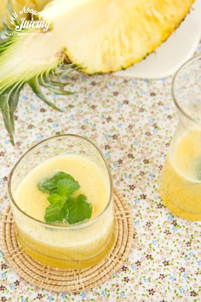 Pineapple juice for inflammation