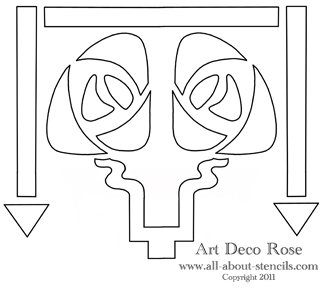 ART DECO GLASS ETCHING PATTERNS « FREE Knitting PATTERNS
