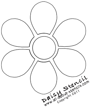 Apply Flower Stencils on Everything from T Shirts to