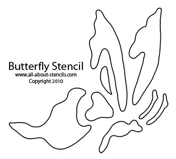 Butterfly Stencils For Garden and Summer Theme Art Plus