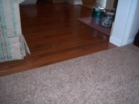 Carpet Over Hardwood Transition