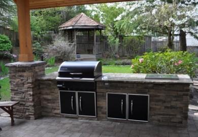 Outdoor Stone Kitchen Designs