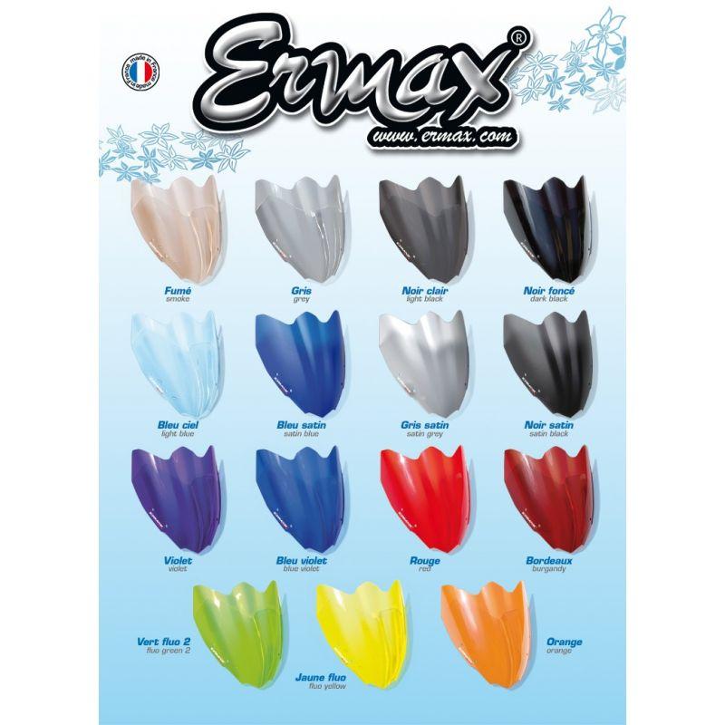 BULLE ERMAX HAUTE PROTECTION  8 CM POUR GSXR 1300 R