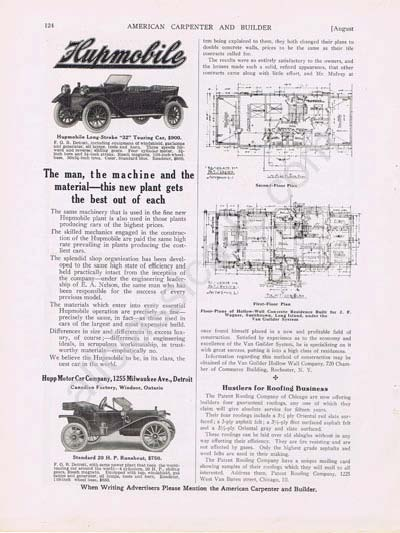 Hupmobile based Vintage Collectable Ads